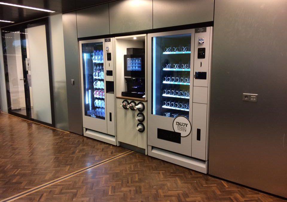 Eerste automaten geplaatst op Science Park