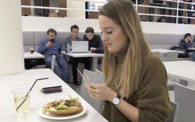 Hoe smaakt het nieuwe eten in de kantines van de UvA/HvA?