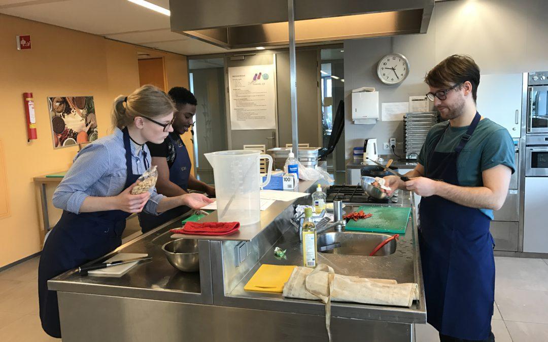 Couscoussalade van studenten Voeding en Diëtetiek verkrijgbaar in restaurant DMH