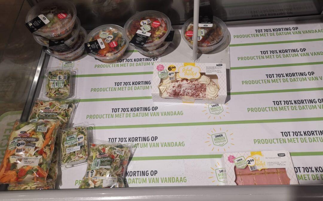 Wat doen de supermarkten tegen voedselverspilling?