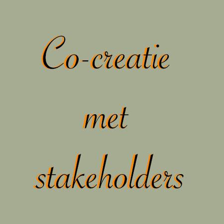 Co-creatie met stakeholders