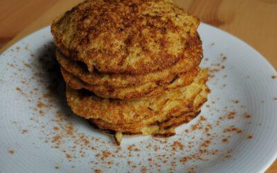 Studentenmaaltijd – Gezonde bananenpannenkoekjes