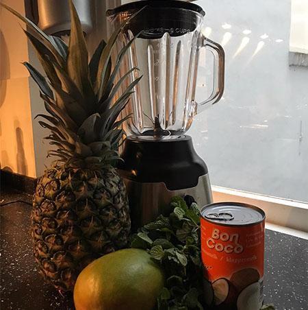 Ananas mango smoothie