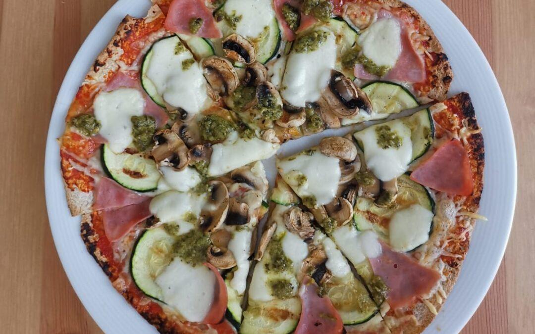 Studentenrecept – Wrap pizza met gegrilde groente